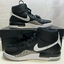 Nike Boys NWB Air Jordan Legacy 312 GS Black/White Size 7Y