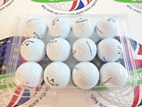 12 CALLAWAY CHROME SOFT GRAPHENE GOLF BALLS PEARL/PEARL 1 GRADE