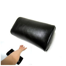 Small Leather Massage Table Pillow Medical Treatment Body Support Pillow Black
