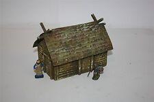 Vikings Germains Maison 1717, pour 4 cm, terminé modèle dans Composite composés construction,