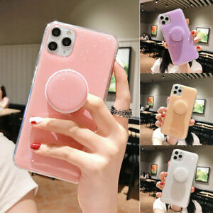 BLING Glitter Holder Case For iPhone 11,XR,12 Pro Max,7,8 SE 2020 XS Phone Cover