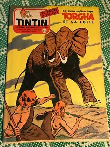 JOURNAL TINTIN 390 France (1956) BD ancienne