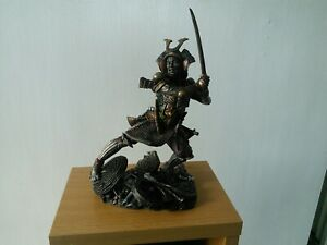 Juliana Collection Bronze Art Gallery Samurai Figure