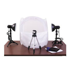 RPS RS-4300 Desktop Studio 20X20 Inch Tent With Lights and Stands and Tripod