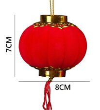 Hanging Chinese Red Lantern 8x7cm   Chinese New Year Spring Festival Party