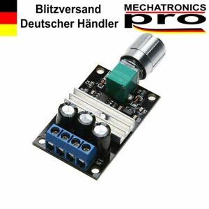 PWM Motorregler Drehzahl Regler 6V 12V 24V 28V DC 3A Schalter Controller