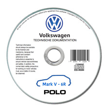 Volkswagen Polo (2010-2018) Manual de Taller Reparación En CD