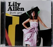 LILY ALLEN * F*CK YOU - REMIXES * US 12 TRK PROMO * HTF! * IT'S NOT ME, IT'S YOU