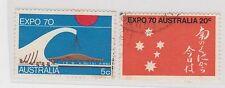 "(PDX739) 1970 AU 2set EXPO ""70"" (V)"