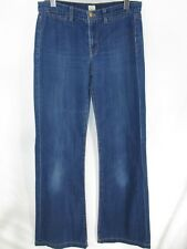 J Brand Women's Jeans Sz 27 Malik Blue Cotton Bootcut Flare Wide Leg Light Wash