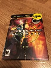 Dead or Alive Ultimate (Microsoft Xbox, 2004) New Sealed BT2
