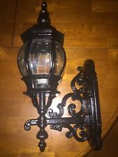 Vintage Outdoor Aluminum Wall Sconce