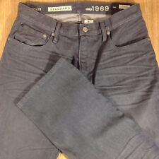 GAP Jeans STANDARD STRAIGHT FIT 30x30 Medium Gray Distressed  *NEW NWT*  M010318
