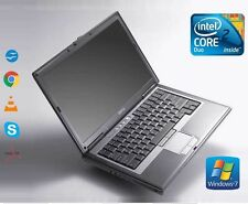 Rápido Dell Latitude D630 Intel Core 2 Duo 2GB Ram 250GB HDD WiFi Windows 7 Computadora portátil