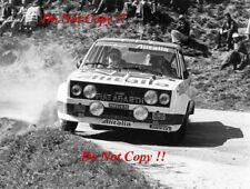 Walter Rohrl ALITALIA FIAT 131 ABARTH RALLY PORTOGALLO fotografia 1978 3