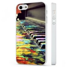Piano Colourful Art Music WHITE PHONE CASE COVER fits iPHONE