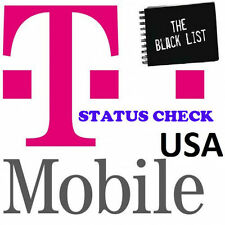 FAST US T-MOBILE IPHONE 4s 5 5c 5s 6 6+ 6s 7 CLEAN BLOCKED UNPAYED STATUS CHECK