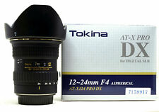 Tokina 12-24mm f/4 SD AT-X Pro (IF) DX Aspherical Wide-Angle Zoom Lens for Nikon