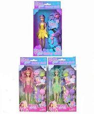Set di 3 Ragazze Fata dolls bambole da gioco