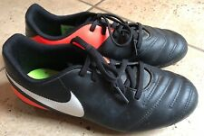 Nike Tiempo- Boy's Soccer Shoes/Cleats- - Size 5 Youth-EUC