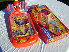 Flipper electronique Spiderman COLLECTOR 2010  boutons jaune peut d exemplaires