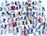168 Vintage Plastic Toy Soldiers Army Men Astronauts Cowboys Indians LOT
