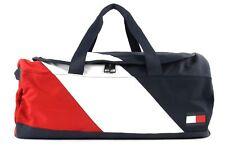 TOMMY HILFIGER Speed Duffle Corporate Sporttasche Tasche Corporate Blau Weiß