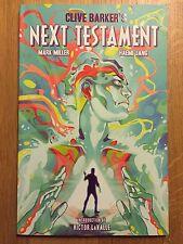 Clive Barker's Next Testament volume 1 EO VO EN PARFAIT ÉTAT (Boom comics)