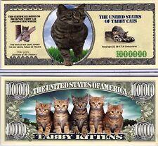 The Tabby Cat - Cat Series Million Dollar Novelty Money