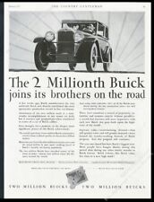 1928 Buick coupe car vintage print ad