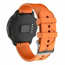 Silicone Watchband Replace Strap 20mm +Circle Round Pattern for Suunto 3 Fitness