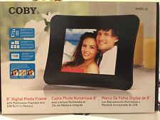 "Coby 8"" Digital Photo Frame with Multimedia Playback 1GB DP850-1G"