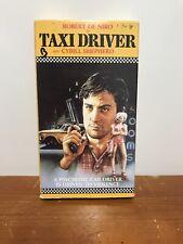 Taxi Driver Robert De Niro Deniro Vhs Cybill Shepherd Jodie Foster