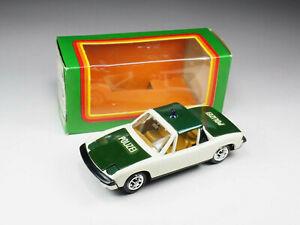 GAMA MINI - 9820 - VW Porsche 914 «Polizei» - En boite - Germany