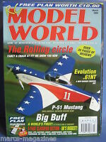 RCMW RC MODEL WORLD MARCH 2004 WIGHT WARLOCK PLANS P51 MUSTANG SPITFIRE