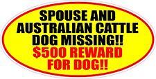 Spouse A 00004000 Nd Australian Cattle Dog Missing Reward Sticker