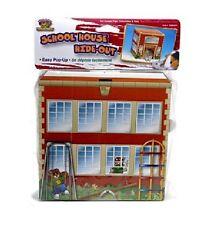 Penn Plax SAM Chinchilla Guinea Hedgehog School House Chewable Hide-Out SAM491
