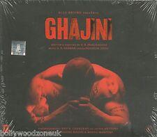GHAJINI - BRAND NEW BOLLYWOOD SOUND TRACK CD