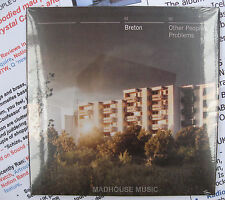 BRETON CD Other People's Problems SEALED + 2 x PROMO SHEETS