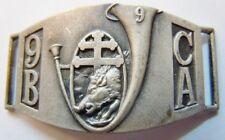 9° BCA Sanglier 1939 Forteresse Gourmette Chasseurs Alpins original WWII FRANCE