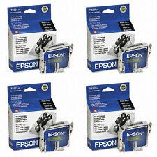 4 Pack Epson 321 Black Genuine T032120 ink Cartridges for Stylus cx5400 5200