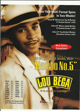 LOU BEGA Mambo TRADE AD POSTER for A Little Bit 1999 CD