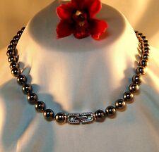 Edles Perlencollier Pierre Lang Collier Perlen Kette 70,1 cm lang / bm 290