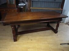 Fine Quality Solid Oak Refectory Dining Table ref2347