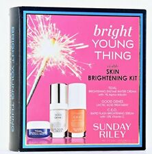 Sunday Riley Bright Young Thing Brightening Kit Tidal, Good Genes,Ceo New in Box