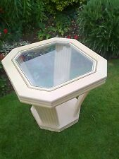 Stylish Octagonal Pedestal Coffee/Occasional Table