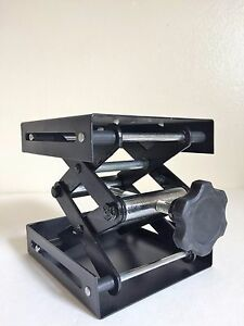 "12"" x 12"" Laboratory Jack Stand Scissor Platform holds up to 68Kg Heavy Duty"