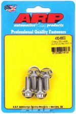 """ARP 430-6802 Sbc Bbc Chevy Water Pump Pulley Bolts - 5/16""""-24 12-Point - 4pcs"""