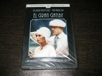 Il Grande Gatsby DVD Robert Redford Mia Farrow Sigillata Nuovo