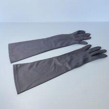 True Vintage - Grey - Long Gloves - Pinup Rockabilly Retro Vintage Bridal